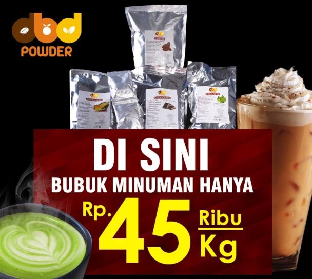 Bubuk Minuman 45 ribu per kilo-R