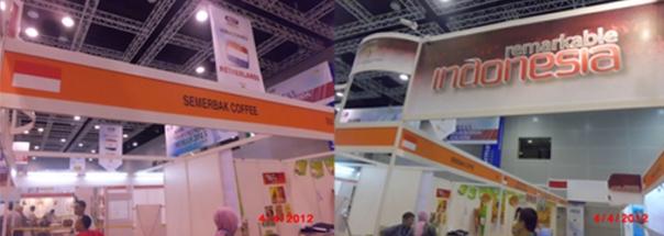 Stand SemerbakCoffee di MIHAS 2012 KLCC Kuala Lumpur Malaysia