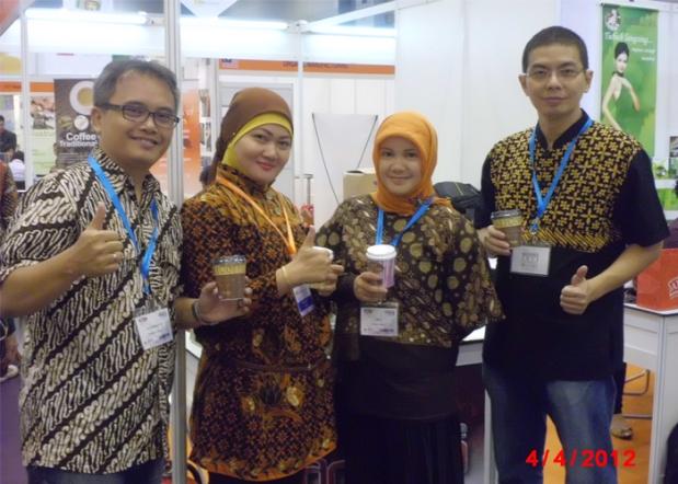 Saya , Muadzin dan Istri Kami di Pameran MIHAS 2012 KLCC Kuala Lumpur